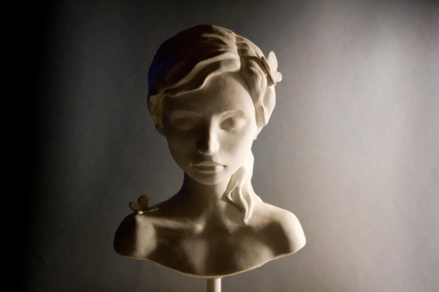 Girl bust by pocketfairy