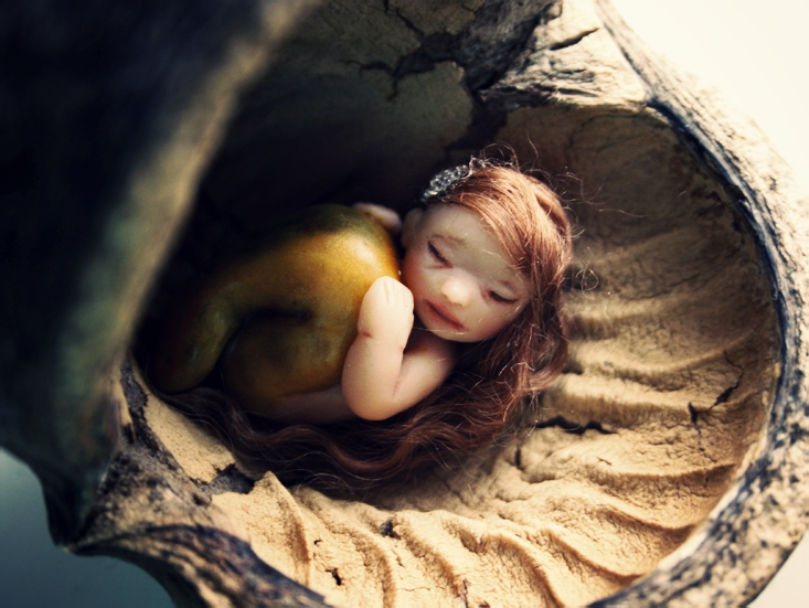 Little mermaid by pocketfairy