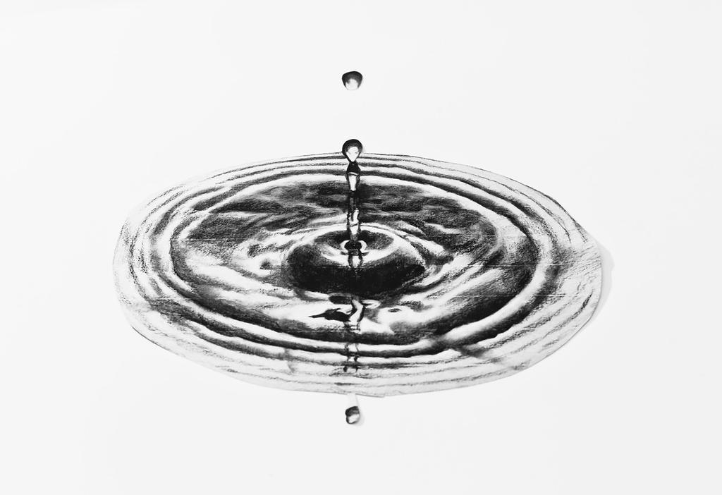 Realistic Water drop illusion 3D drawing by PitGraf on ...