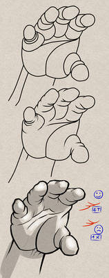 [Step-by-step Tuto] How to draw shortcut on hands