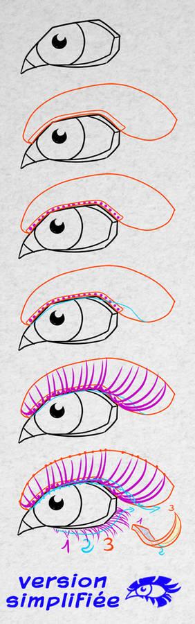 The ultimate Eyelashes drawing tutorial
