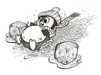 Sliding Pingouin