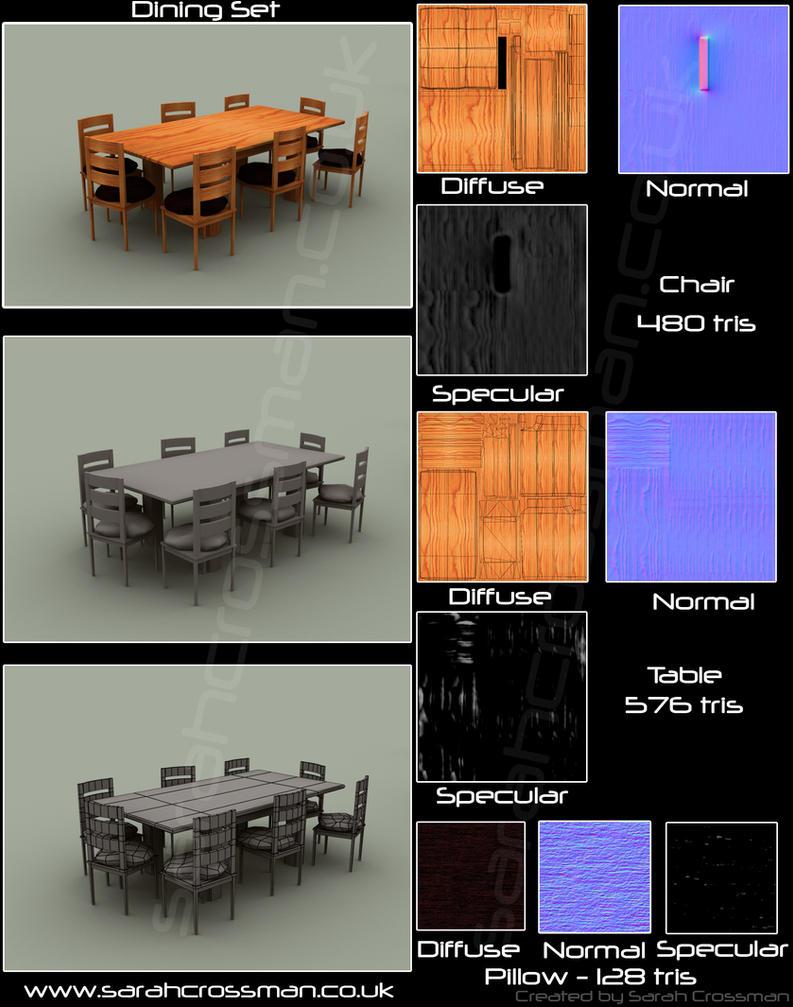 Dining Set by Sae-Matsumoto