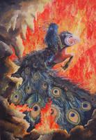 Burning beauty by williamxu