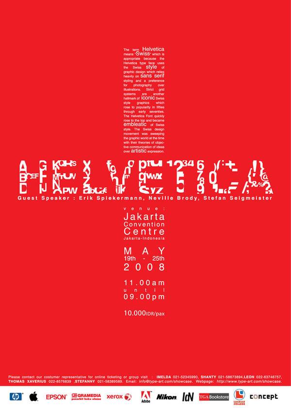 helvetica poster by williamxu