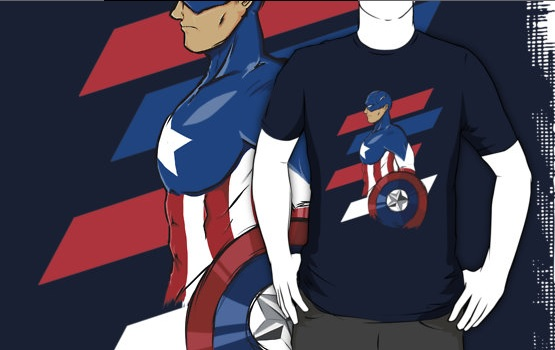Captain America by SebasTengentopero
