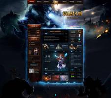Deepness Game website by onejian
