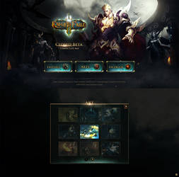 Knight's Fable/Game website