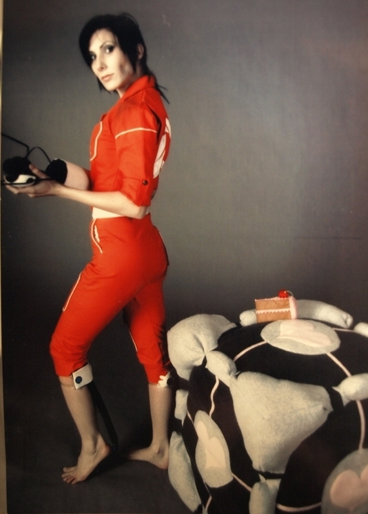 Chell From Portal Cosplay By Lanieball On Deviantart