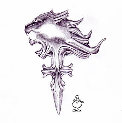 Besides, I'd sooner get a tattoo of the Griever pendant from VIII.