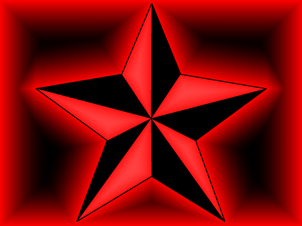 red star wallpaper 3d - photo #44