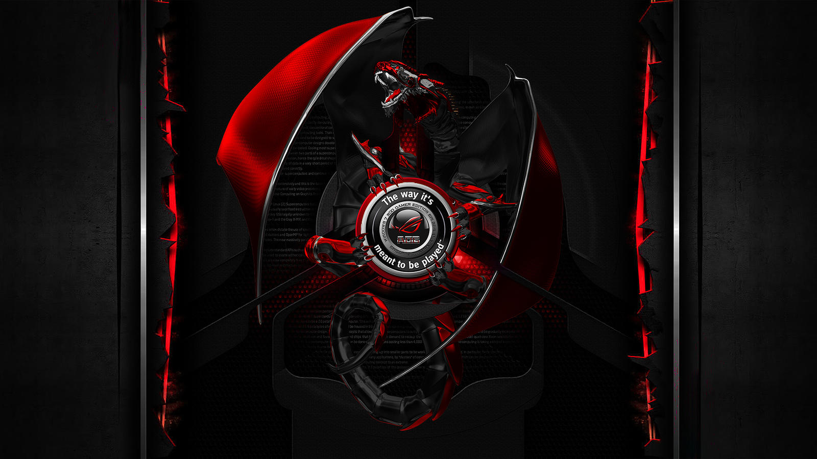 10 New Msi Gaming Series Wallpaper Full Hd 1920 1080 For: Republic Of Gamer Dragon Edition By Holly69 On DeviantArt