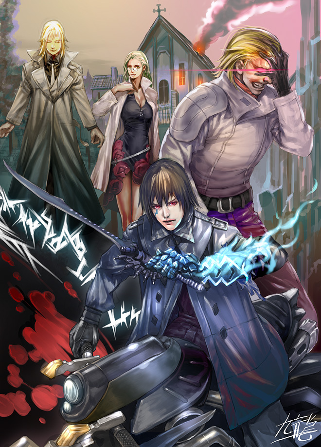 Blassreiter 'dark heroes' by yagatama