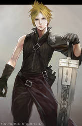 Cloud from Final Fantasy AC