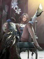 NierReplicant  -Kaine, Emile- by yagatama