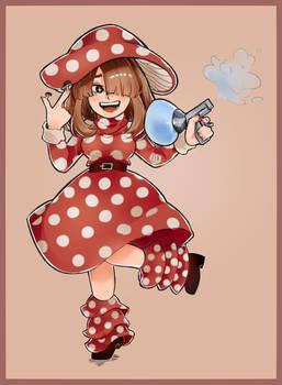 Kinoko Komori -- Mushroom Girl