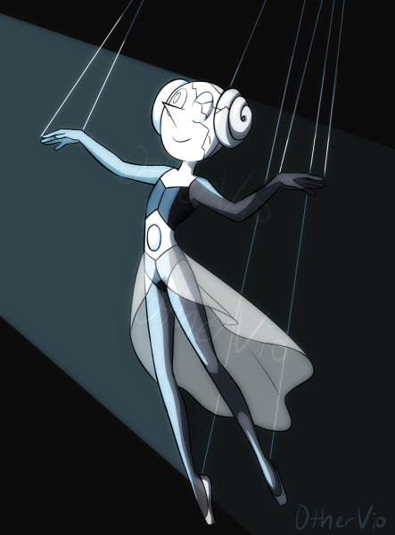 WOW. I actually lost interest in Steven Universe ages ago- I'm so far behind the the series. But oh my goodness I think I'm going to start watching again JUST because of White Diamond and White Pea...