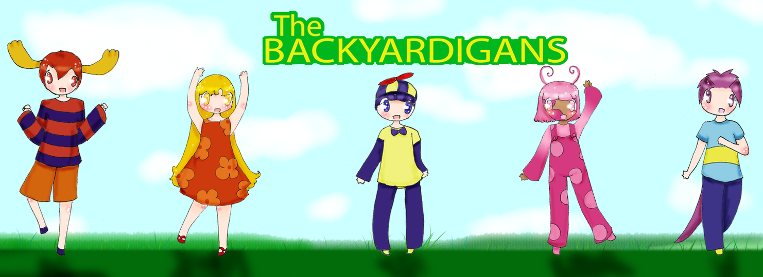 your backyard friends by yaoifangirlkatie on deviantart
