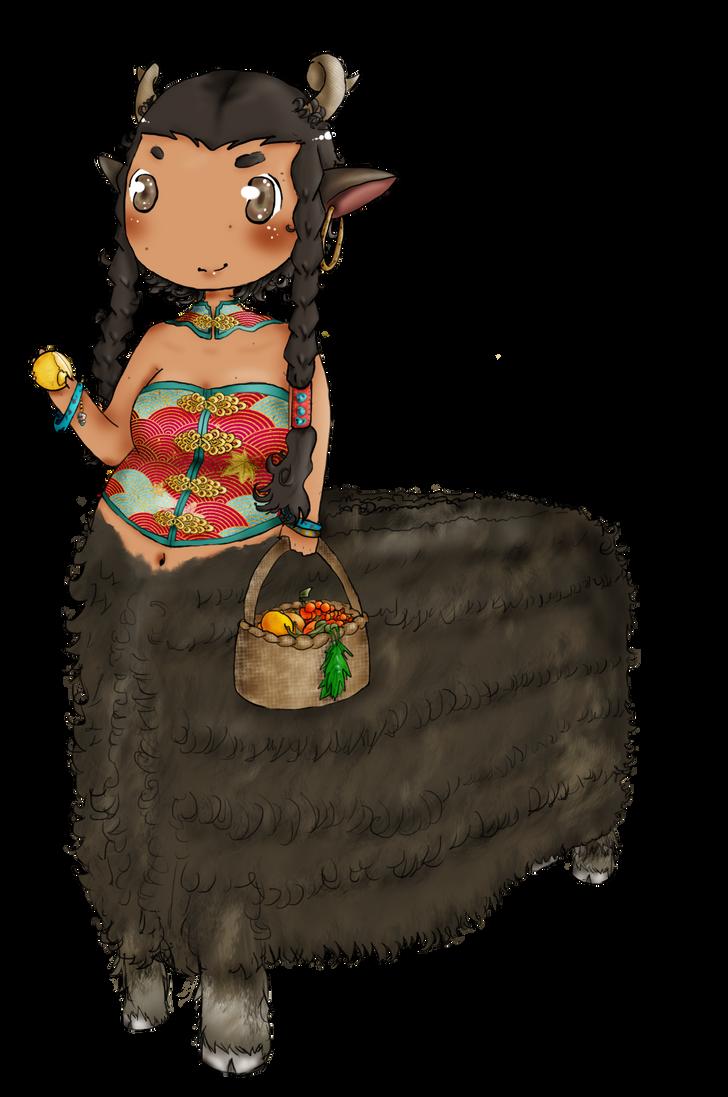 Yak Centaur Girl by yaoifangirlkatie