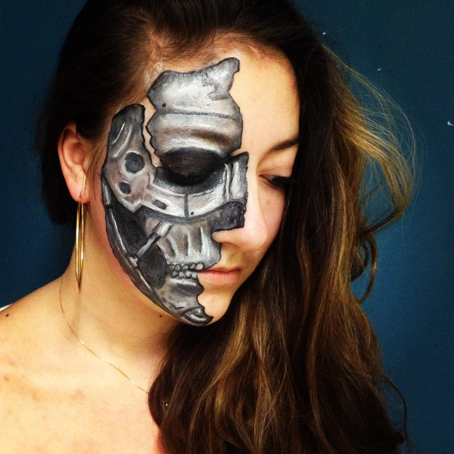 Robot face by LindaaCB on DeviantArt