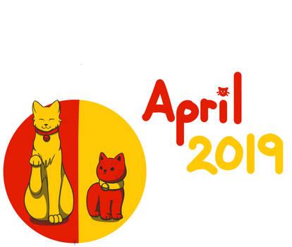 April Doodle (2019) by SparkytheWingedCat
