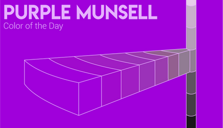 Color of the Day: Purple Munsell by SparkytheWingedCat