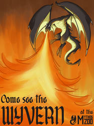 Come see the Wyvern at the Mythos Zoo