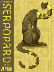 Come see the Serpopard at the Mythos Zoo