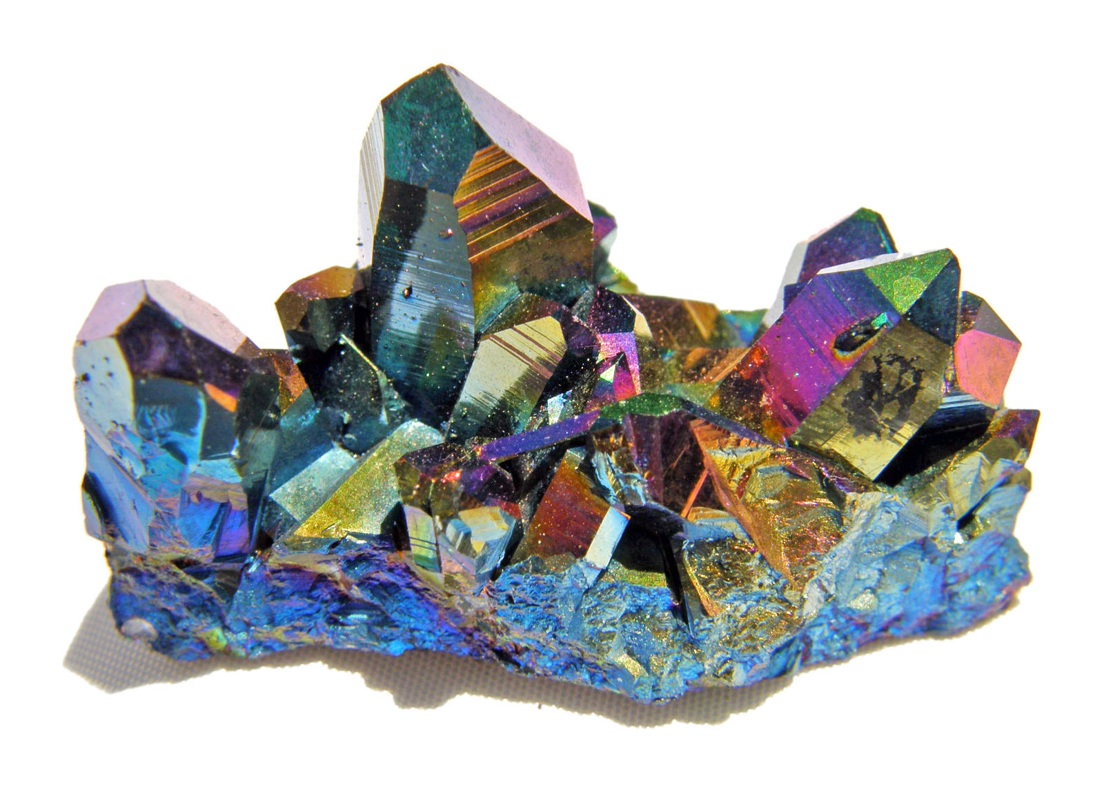 Rainbow Quartz Stone : Rainbow aura quartz by rae on deviantart