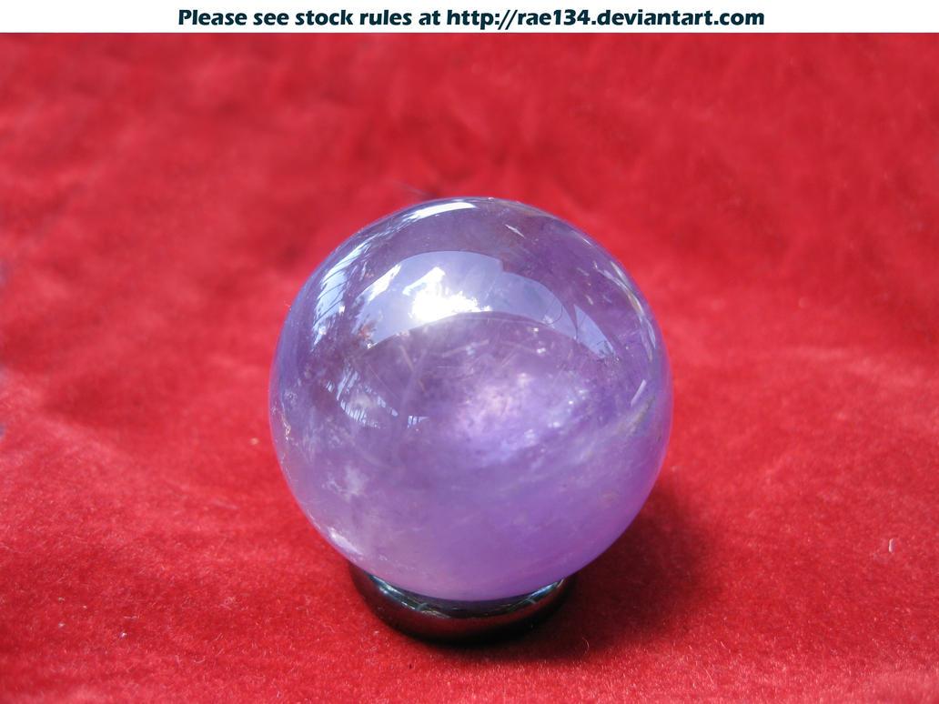 Amethyst Crystal Ball 4 by Rae134