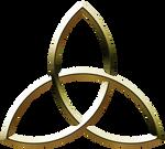 Metalic Triquetra - Gold