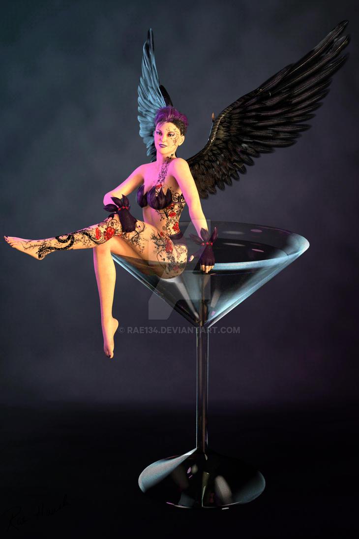 Gothic Angel by Rae134