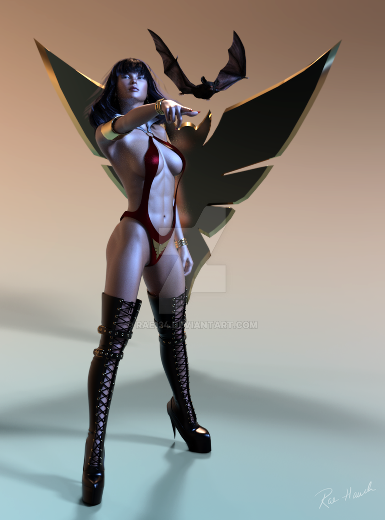 Vampirella by Rae134