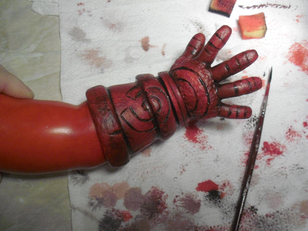 Baby Hellboy by Little-Psycho-Lilith