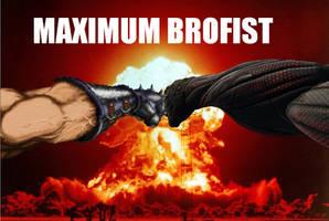MAXIMUM BROFIST by Defiant-Ant
