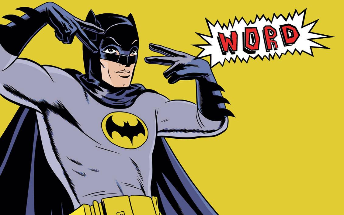 Batman - Word by Defiant-Ant