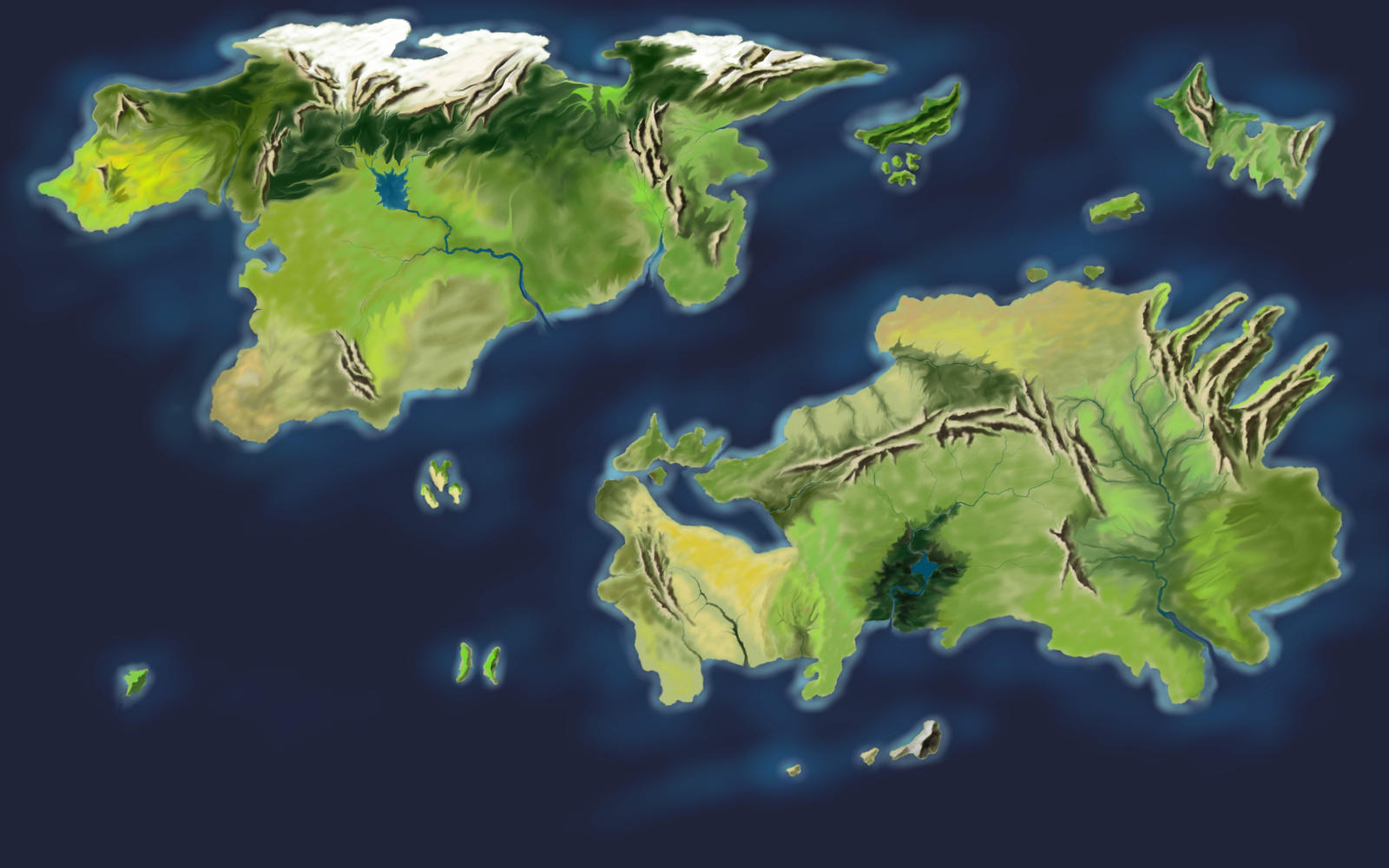 New world map by desuran on deviantart new world map by desuran new world map by desuran gumiabroncs Images