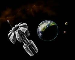 Deep Orbit Station at Keras by desuran