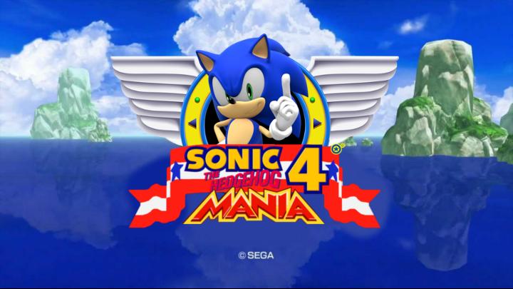 Sonic Mania Esque Title Screen – Fondos de Pantalla