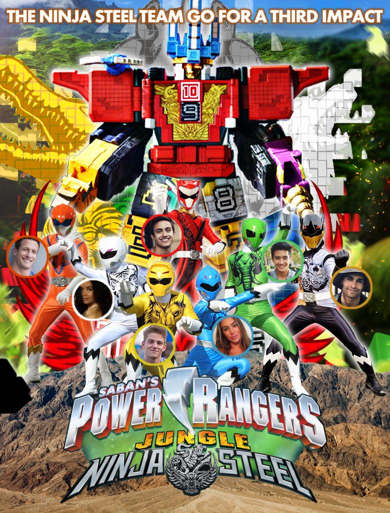 Power Rangers Jungle Ninja Steel By Bilico86 On Deviantart