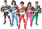 Dino Charge Rangers - Original Team, Brave Style