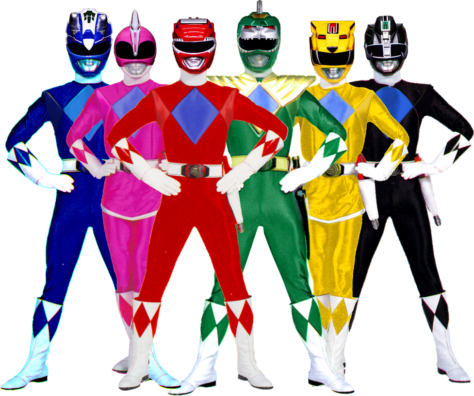Mighty Morphin Power Rangers A Remake Series By Bilico86 On Deviantart