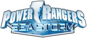 Power Rangers Sea Storm Logo
