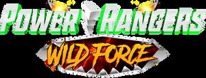 Power Rangers Wild Force S2 Logo Fan-Made (Hasbro)
