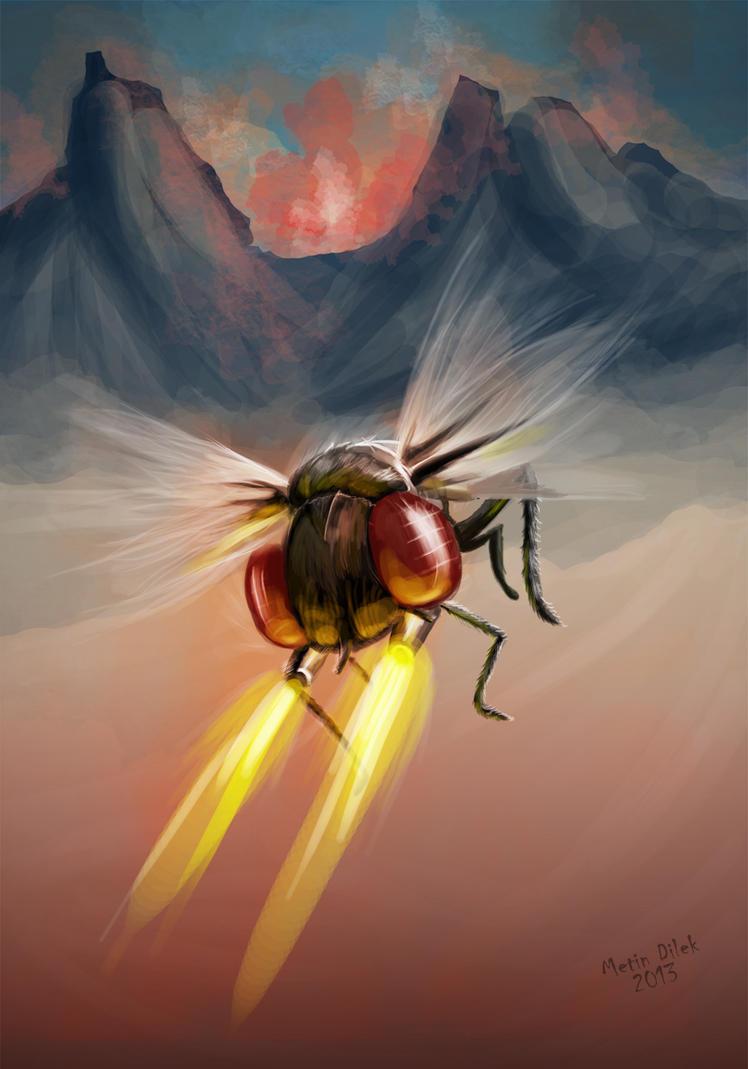 Spy bug by Metindlk
