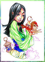 Mulan by Ellana01