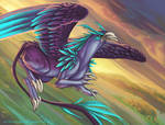 Griffon eclaireur by Ellana01