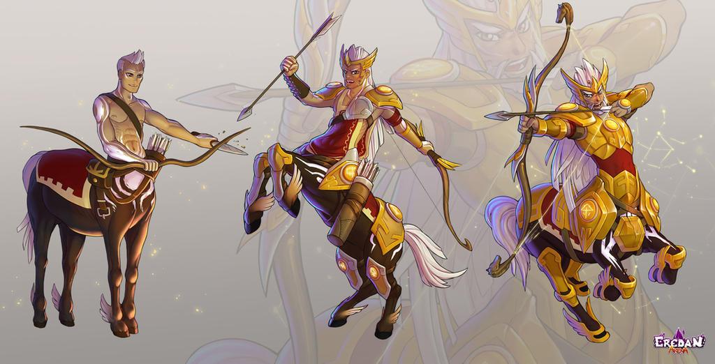 Centauros the sagittarius