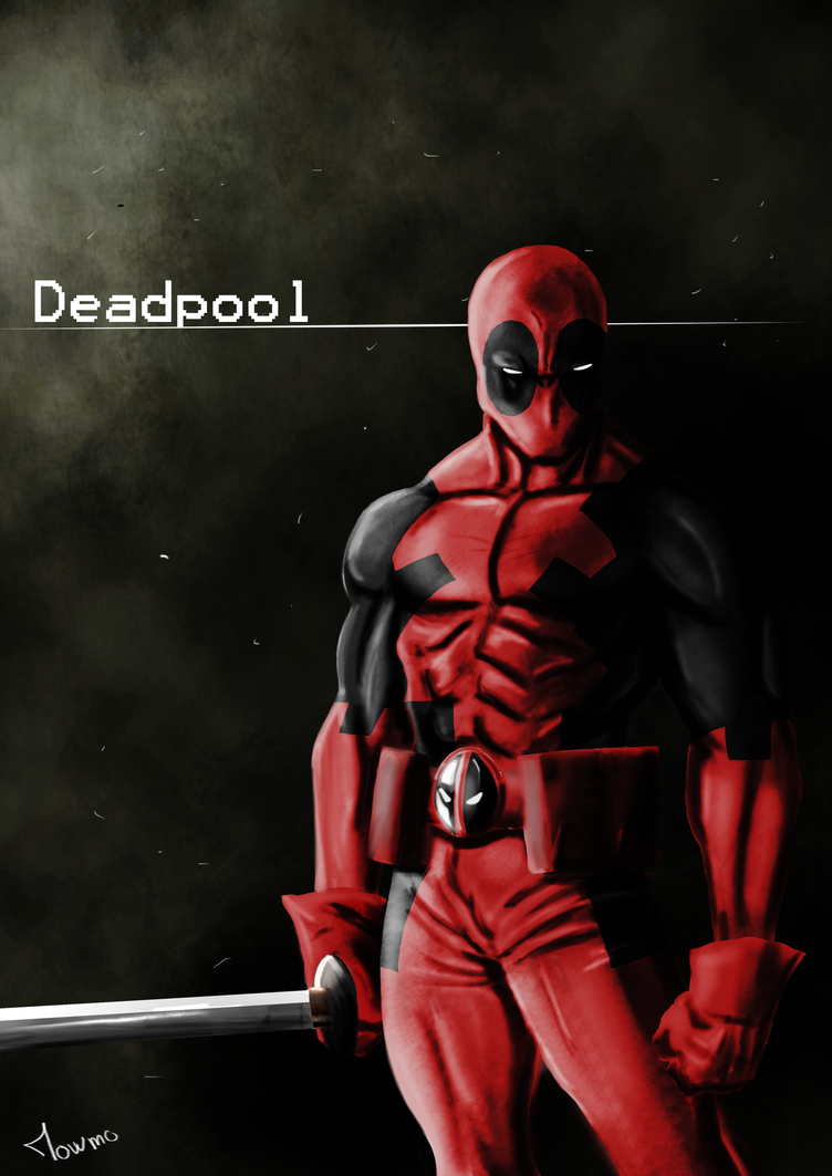 Deadpool by mowmo-deviant