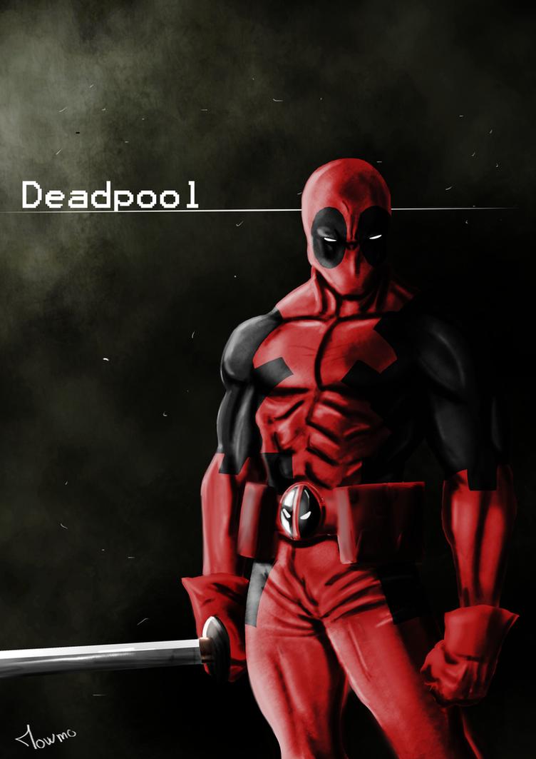 Deadpool by mowmo-deviant